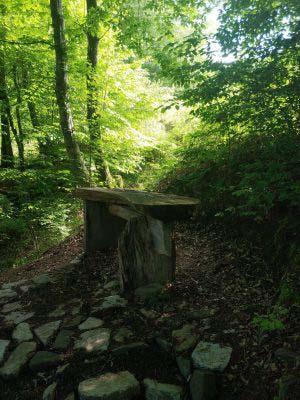 Скамейка на природе